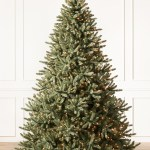 Canadian Blue Green Spruce Artificial Christmas Tree Balsam Hill
