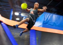 Sky Zone also offers corporate team-building opportunities, as well as SkyRobics, cross training, 3-D dodgeball and Sky Zone (the sport!) for the more adventurous. (Courtesy Photo)