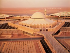 King Khalid International Airport, Riyadh, Saudi Arabia. (Photo: Robert Azzi, courtesy of HOK)