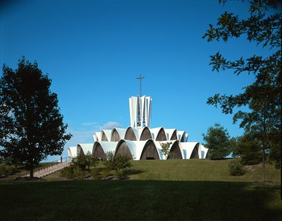 The Saint Louis Abbey. (Photo: George Cott, courtesy HOK)