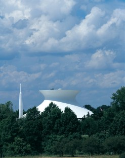 St. Louis Science Center's McDonnell Planetarium. (Photo: Robert Pettus, courtesy of HOK)