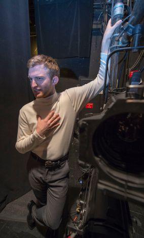 Daniel Washelesky as Peter Bellum. (Photo: Joe Angeles/Washington University.)