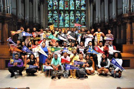 KIPP students in Graham Chapel
