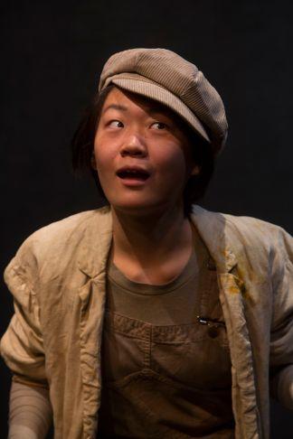 Zoe Liu as one of The Poor. (Photo: Jerry Naunheim Jr./Washington University)