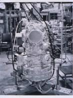 "Catherine Wagner (American, b. 1953), Ultra High Vacuum Chamber, 1992. Gelatin silver print, 38 1/2 x 29 7/8"". Mildred Lane Kemper Art Museum, Washington University in St. Louis. University purchase, Charles H. Yalem Art Fund, 1996."