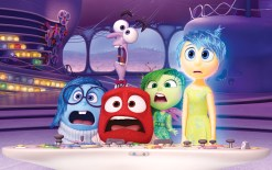 """""""Inside Out"""" featured (from left) Sadness, Fear, Anger, Disgust, Joy. (Courtesy Pixar Animation Studios)"""