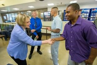 Prison Education Project ceremony