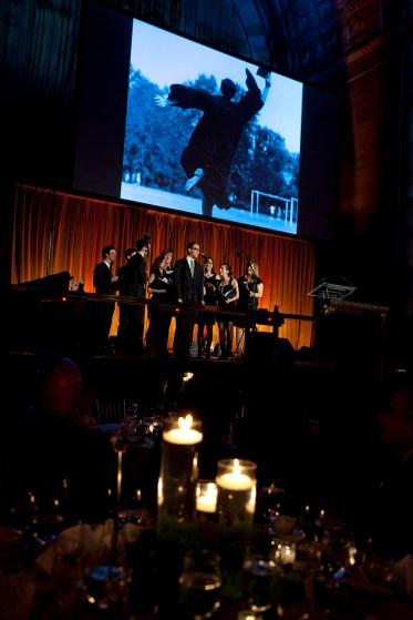 Washington University's New York regional campaign kickoff event, held April 23, 2013, at Cipriani 42nd Street, was one of 32 held throughout the country. Leading Together attracted unprecedented support from nearly 160,000 university alumni, parents and friends.