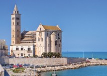 Apulia, May 6–14, 2014. Visit the Apulian coast in southern Italy, roaming medieval Trani, admiring Lecce's baroque architecture, and savoring the region's vintages on a winery tour. (Courtesy photo)