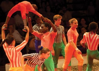 The St. Louis Arches — a sensational, youth circus performance troupe from Circus Harmony, St. Louis' only circus school and social circus organization — are featured performers. (File photo: Whitney Curtis)