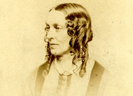 William Greenleaf Eliot and his wife, Abigail (pictured), had 14 children, but nine died before reaching adulthood. Mary Institute was named for the couple's daughter, Mary, who died as a teenager. (WU Archives)