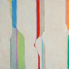 """Zenith,"" 1981. Oil on canvas, 25 x 25"". Courtesy of Philip Slein Gallery, St. Louis."