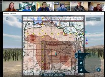 Virtual ROTC training exercise