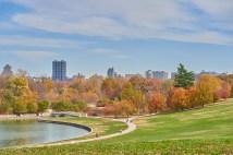 Medical Campus skyline in autumn