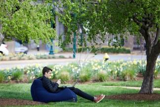 med student outside