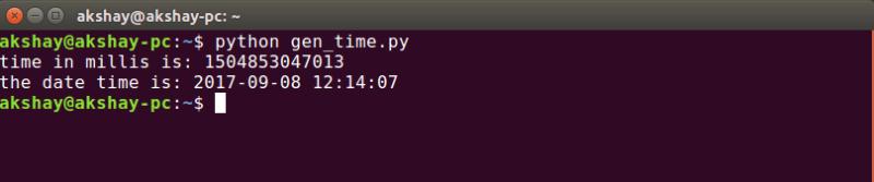 python rest API