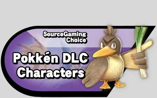 Pokken DLC Characters