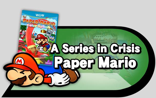 Series crisis Paper mario