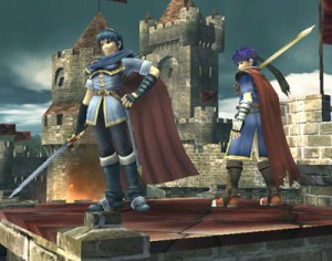 Marth and Ike defend their turf in Super Smash Bros. Brawl
