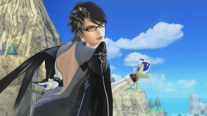 Bayonetta in Super Smash Bros. for Wii U.