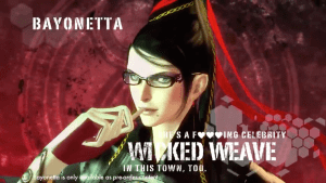 Bayonetta in Anarchy Reigns