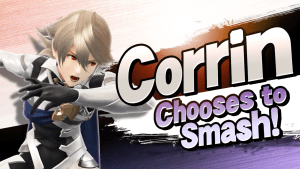 Corrin in Super Smash Bros. for Wii U and Nintendo 3DS