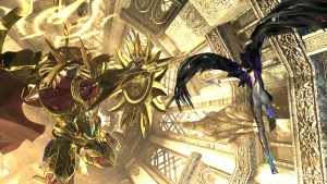 Bayonetta and Valiance in Bayonetta 2