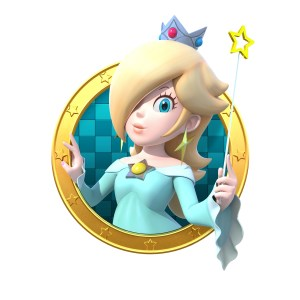 Rosalina in Mario Party: Star Rush for the 3DS