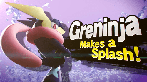 Greninja in Super Smash Bros. for Wii U and Nintendo 3DS