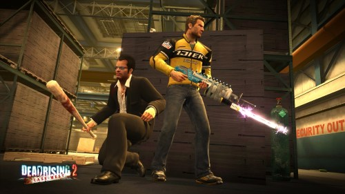 Frank West and Chuck Greene in Dead Rising 2: Cast West
