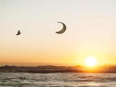 north orbit at sunset