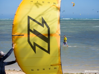 north carve kite launching