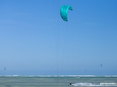 kiter using north orbit 9m in phan rang