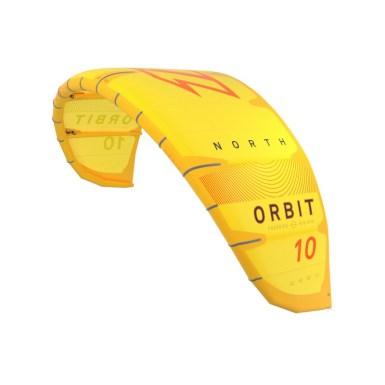 north orbit kite in yellow