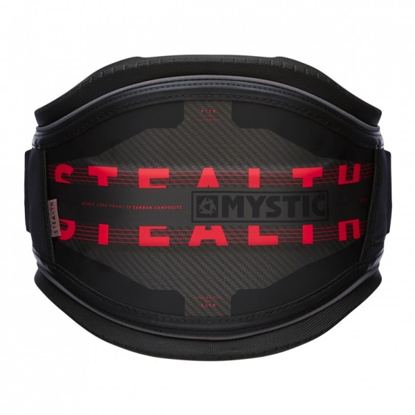 mystic stealth harness red and black