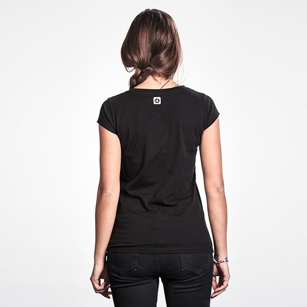 mystic ladies brand tshirt back