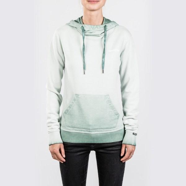 mystic stow hoodie green