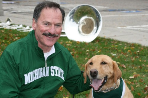 Brent Bowditch and Zeke the Wonder Dog