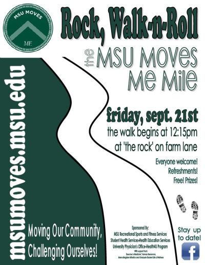 MSU Moves Me Event Flyer