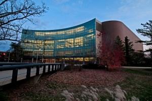 Wharton Center Evening
