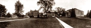 MSU Laboratory Row in 1912