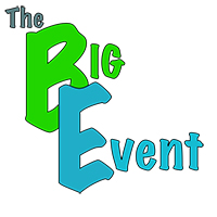 The Big Event graphic element
