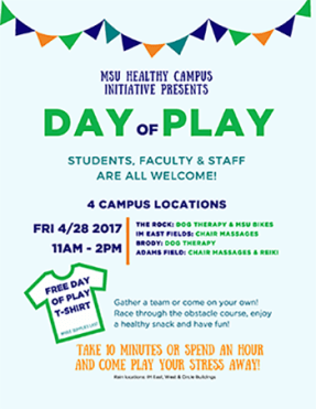 MSU Day of Play 2017