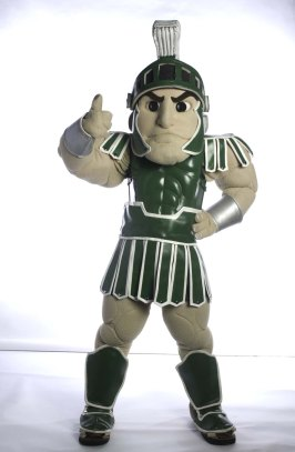 Sparty thumbs up