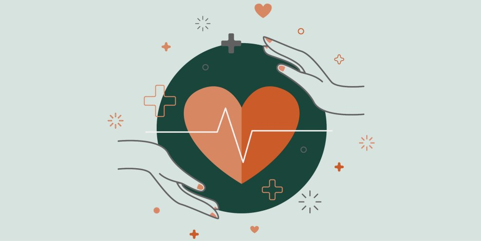 graphic representing medical care
