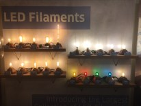 Source Lighting and Bulbrite Offering wide array of dimmable led filament and vintage lamps.