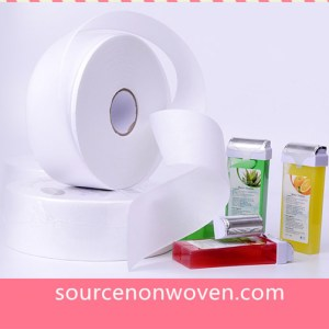 Nonwoven waxing strips