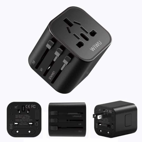 WiWU Universal Plug Travel Adapter SOP