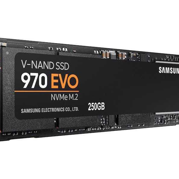 Samsung SSD 970 EVO NVMe M.2 250GB SOP