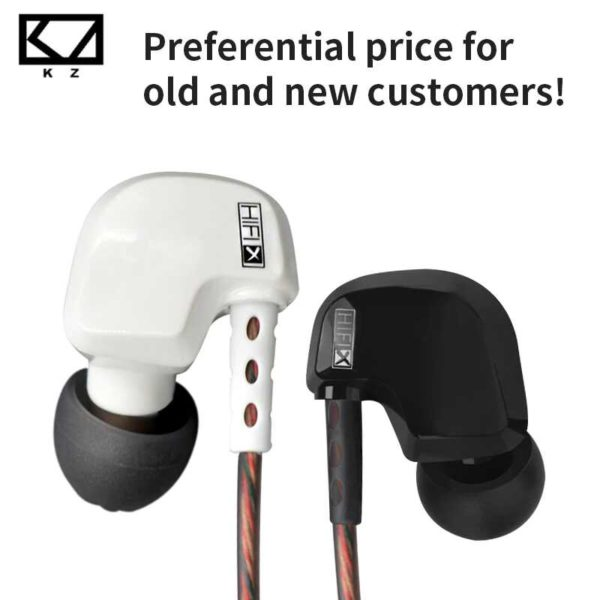 KZ HD9 HiFiX Sports Earphones SOP